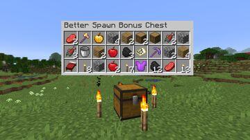 Better Spawn Bonus Chest Minecraft Data Pack