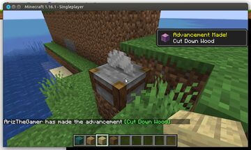 Woodcutting v 1.0 Minecraft Data Pack
