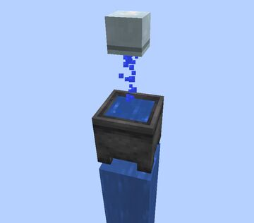 Infinite Water Source Block Minecraft Data Pack
