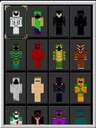 Hooded Halloween Outfits Minecraft Data Pack