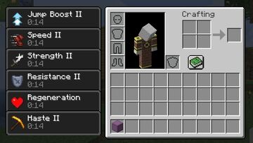 Inventory Beacons Minecraft Data Pack