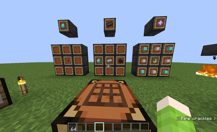 New Nether Star recipe. and the other crafting recipes.