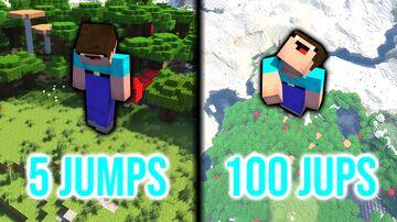 Increasing Jump Boost datapack Minecraft Data Pack