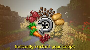 Auto Utilities: Crops Minecraft Data Pack