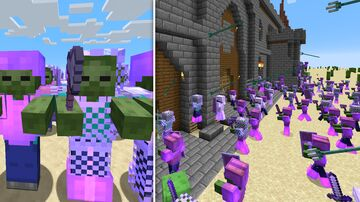 Working Zombie Army Minecraft Data Pack
