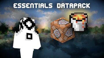 Essentials in Vanilla (substantial datapack 1.15.2/1.16) Minecraft Data Pack
