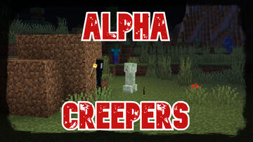 Alpha Creepers | True Survival Datapack Minecraft Data Pack