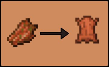 Rotten Flesh to Leather Minecraft Data Pack