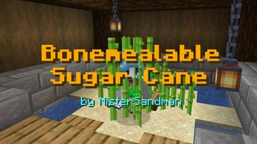Simple Bonemealable Sugar Cane + Nether Wart! Minecraft Data Pack