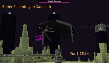 Superior Ender Dragon Datapack for 1.16.3+ Minecraft Data Pack