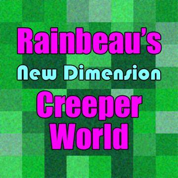 Rainbeau's Creeper World - New Dimension Minecraft Data Pack