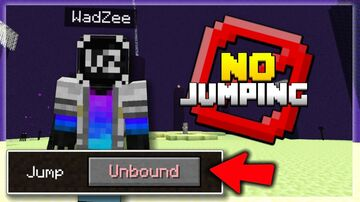 Minecraft, but jumping hurts you (Added more info!) Minecraft Data Pack