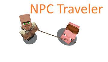 NPC Traveler Minecraft Data Pack