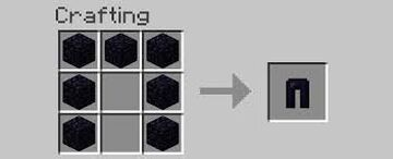 Obsidian Armour Minecraft Data Pack