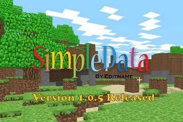SimpleData Minecraft Data Pack