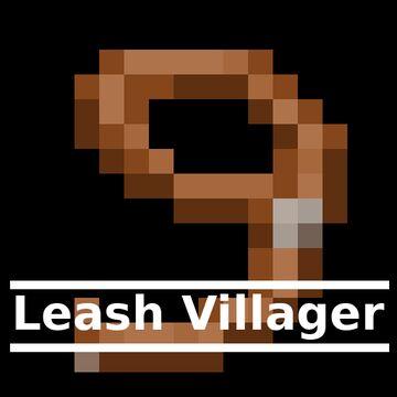 Leash Villager Minecraft Data Pack