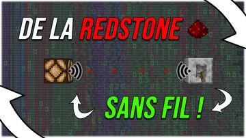 Redstone SANS FIL ! Wireless Redstone ! | MINECRAFT DATAPACK 1.16.X | Minecraft Data Pack