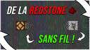 Redstone SANS FIL ! Wireless Redstone !   MINECRAFT DATAPACK 1.16.X   Minecraft Data Pack