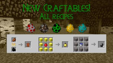 New Craftables: All Recipes Minecraft Data Pack