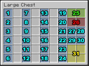 Counting to 2021 - Advent/December Calendar chests! Minecraft Data Pack