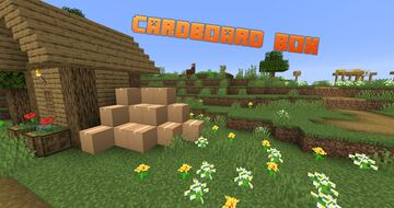 Cardboard Box [1.0] Transport your chests with ease !! Minecraft Data Pack