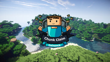 Chunk Claim datapack Minecraft Data Pack