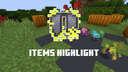 Items Highlight Minecraft Data Pack