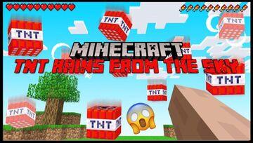 Raining TNT Minecraft Data Pack