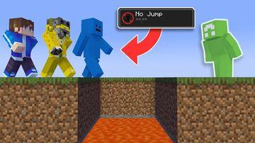 Minecraft Manhunt, But Hunters Can't Jump When You Shift (PLUGIN) Minecraft Mod