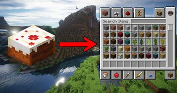 Minecraft, But Eating Cake Gives Creative Mode... Minecraft Data Pack