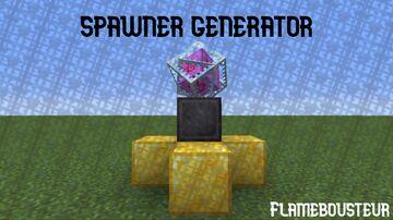 spawner generator Minecraft Data Pack