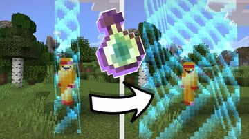 Minecraft but XP Levels expand border Minecraft Data Pack