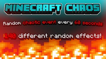 Minecraft Chaos Datapack (150 different random effects) Minecraft Data Pack