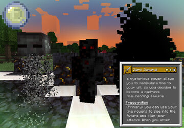 Origins Mod Datapack | Zero Samurai Minecraft Data Pack
