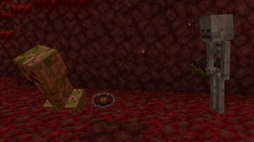 Creepers Drop Pigstep in Nether Minecraft Data Pack