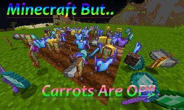 Minecraft But Carrots Drop OP Loot Minecraft Data Pack