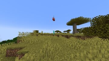 Manhunt were the runner sneak the hunter gets a tnt on top of them Minecraft Data Pack