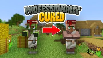 Professionally Cured Zombies - 1.17+ Release (1.16 Version Available) Minecraft Data Pack