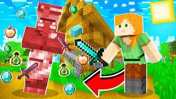 Villager drop OP Items Minecraft Data Pack