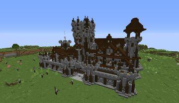 Pillager Stronghold [ 1.17 - Worldgen - No structure replacement ] Minecraft Data Pack