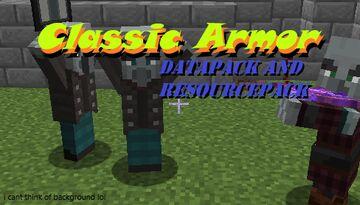 ClassicArmor Datapack And Resourcepack Minecraft Data Pack