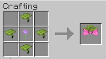Craftable Spore Blossom in 1.17 Survival using the Hermitcraft Recipe Minecraft Data Pack