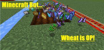 Minecraft But... Wheat Is OP! Minecraft Data Pack