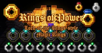 Rings of Power (Lord of the Rings) Minecraft Data Pack
