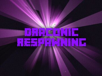 Draconic Respawning for Hardcore SMP Servers Minecraft Data Pack