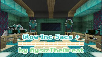 Glow Inc Sacs + | Craft glowing armour! Minecraft Data Pack
