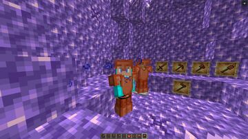 Copper tools and armor Minecraft Data Pack