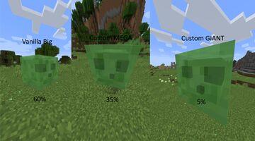 Larger Slimes Datapack Minecraft Data Pack