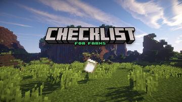 Farms Checklist Minecraft Data Pack