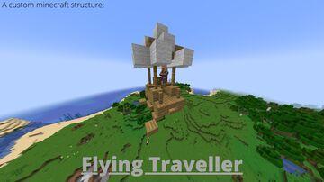 Flying Traveller Minecraft Data Pack